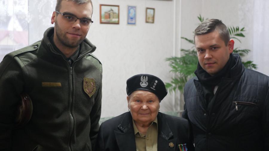 Grodno, spotkanie u Pani kpt Marii Mieszkiny z szefami Opolskiego i Mazowieckiego Oddziału Odry-Niemen