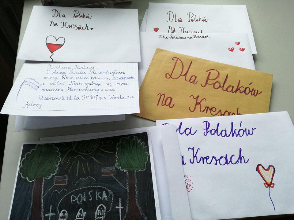 Kartki i listy do kombatantów i Rodaków na Kresach