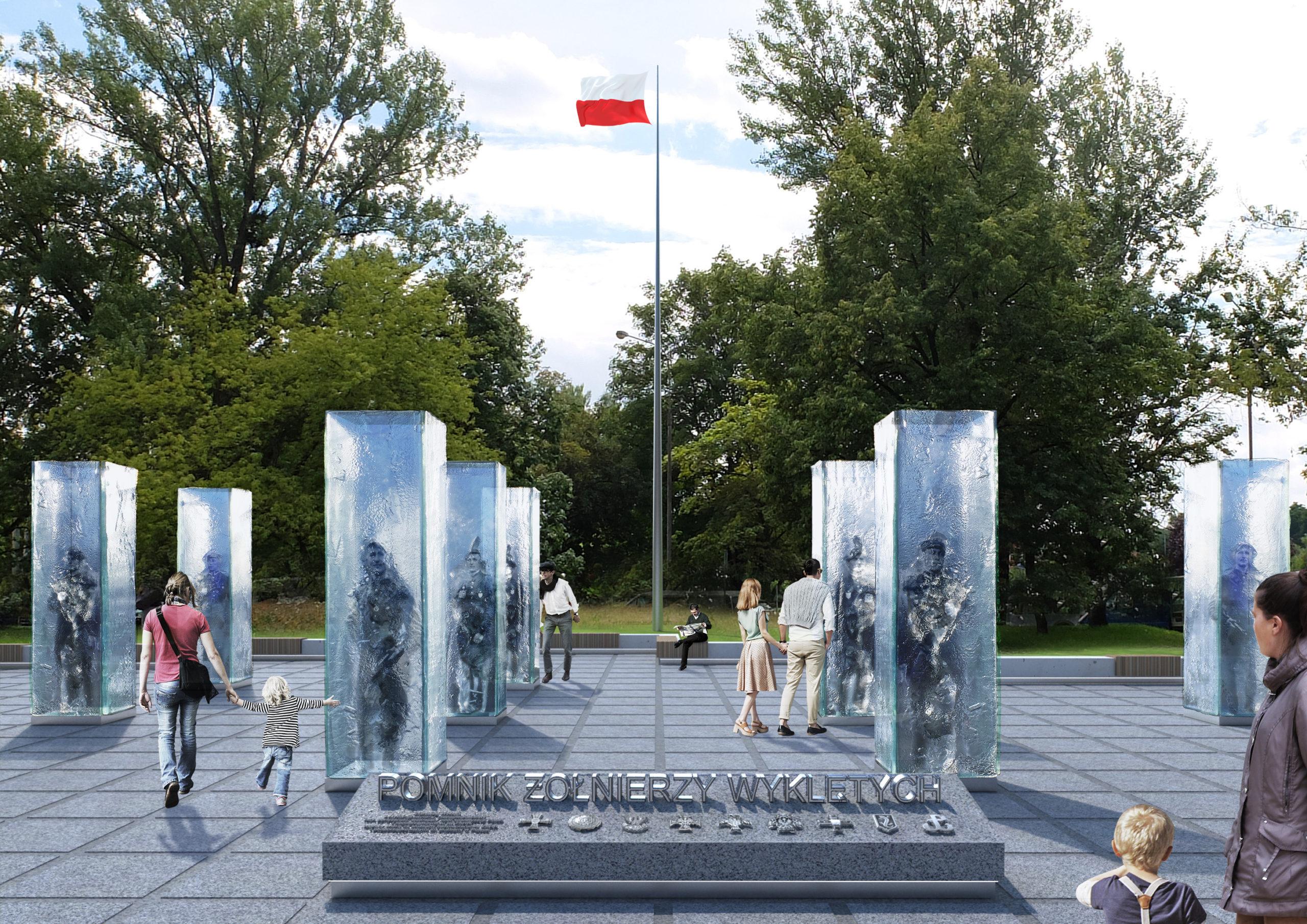 Wizualizacja pomnika